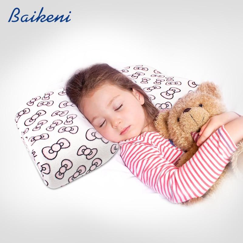 Baby Head Shaping Memory Foam Pillow /& Bamboo Pillowcase KEEP an Infant/'s he...