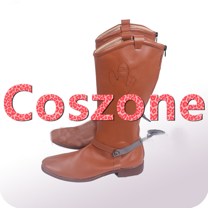 d29972fa8ba Toy Story Cowboy Sherif Woody Cosplay Shoes Boots Halloween Carnival  Cosplay Costume Accessories