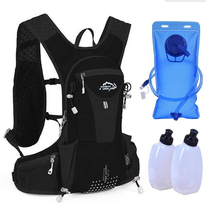 LOCAL LION 10L Running Hydration Backpack, Women Men Jogging Sport Backpack ,Trail Running Marathon Bag trail running