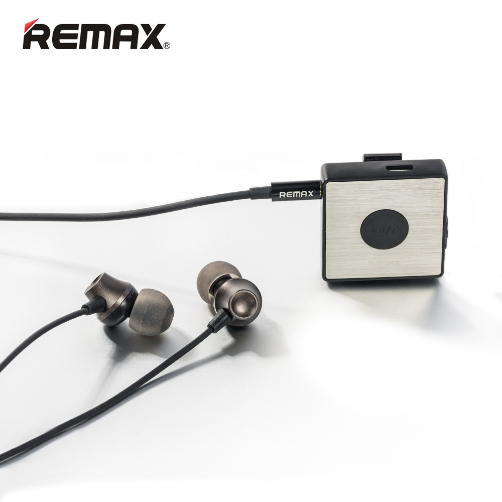 Remax Multi-Function Sport Clip On Bluetooth Headset HiFi Stereo Earphone RB-S3