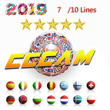 HD 1 Year CCCAM 7 lines Cline Server Account For Satellite receiver Spain UK Germany French Italy POLSAT MOVISTAR ES