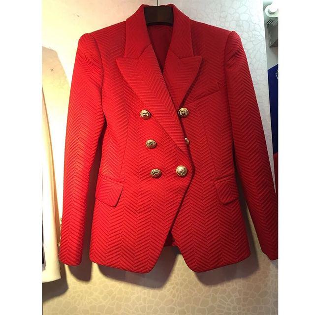Nova sarja Espinha das mulheres Fino terno casaco jaqueta fivela de metal mesmo desgaste estrela Q14