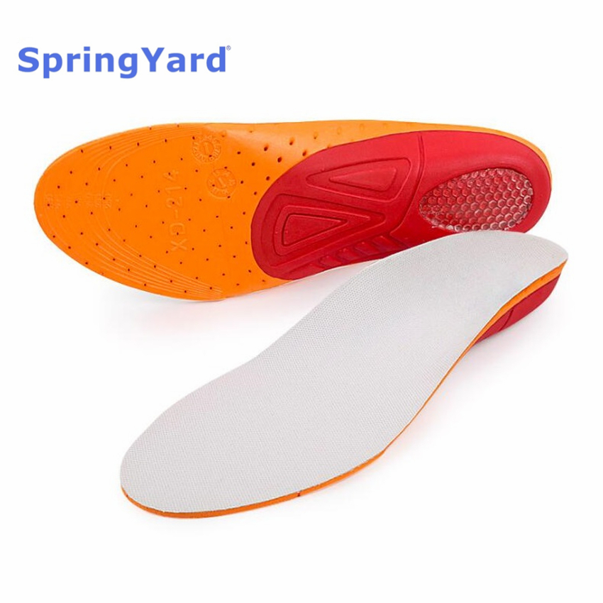 Springyard Eva Sports Orthopedic Insoles Arch Support Cushion Shoe Pad Shock-absorption Running Breathable Train For Men Women Shoe Accessories
