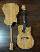free shipping AAAA custom guitar all solid imported Olive wood Ryan style guitar customize handmade acoustic guitar