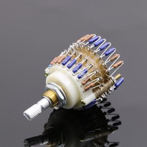 Image 3 - 23 adım potansiyometre 10K/50K/100K/250K/500K iki kanallı hacim potansiyometre amplifikatör ses kontrolü