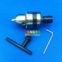 Fitsain-B16 1.5-13 мм Мини сверлильный патрон используется для вала двигателя 10 мм, 12 мм, 14 мм для электрических ручной дрелью станков PCB сверлильный