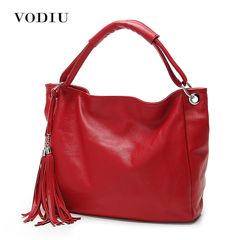 Women Bags Leather Tote Over Shoulder Handbags Sling Messenger Crossbody Fringe Tassel High Quality Casual Big Female Handbags chispaulo women genuine leather handbags cowhide patent famous brands designer handbags high quality tote bag bolsa tassel c165
