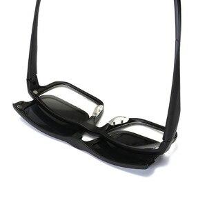 Image 5 - KJDCHD (5 عدسة) كليب على النظارات الشمسية الرجال النساء المغناطيسي الاستقطاب + مرآة نظارات شمسية لقصر النظر يوم القيادة TR90 الإطار