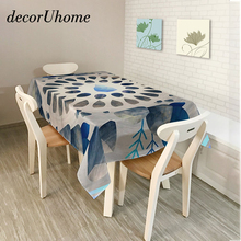 Marvelous DecorUhome Polyester Waterproof Rectangle Tablecloths Cartoon Cool Ocean  Animals Oilproof Table Cloth Home Banquet Table Cover