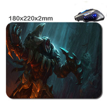 HOT SALES Custom Antiskid 3 D League Of Legends Headhunter 220 X180x2mm Office Accessory Tablet And Mini Pc Mouse Pad As  Gift