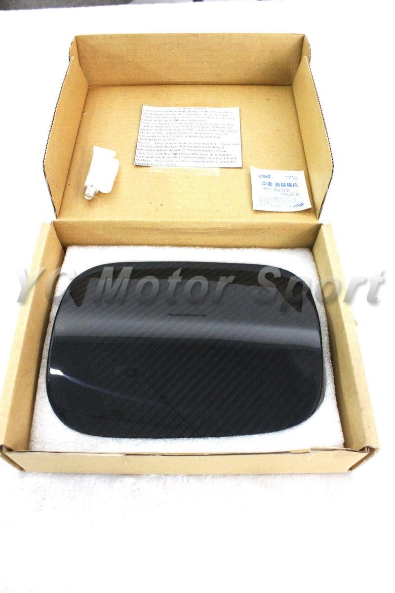 Car Accessories Dry Carbon Fiber Fuel Cap Cover Fit For 2002-2010 Corolla Altis Fuel Cap Cover Car-stying