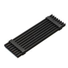 N80 NVME NGFF M.2 2280 диск PCIe SSD пассивное охлаждение; алюминий теплоотвод радиатор