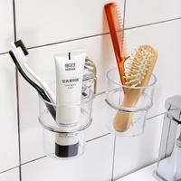 Suction Cup Toothbrush Holder Tooth Brush Holder For Bathroom Accessories Set Suction Bathroom Sets Dehub Brand