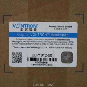Image 2 - Vontron ULP1812 50 RO membran elemanı NSF ters osmoz sistemi 50gpd su filtresi kartuşu 25 adet/ctn