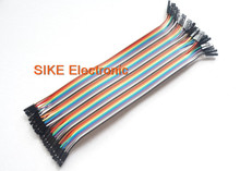 40PCS in Row Dupont Cable 2.54mm 1P-1P 20CM Female to Female Dupont Jumper Wire Line for arduino