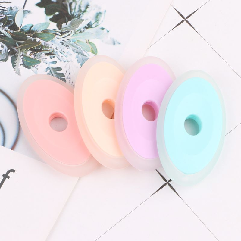 Neutral Erasable Pen Special Silicone Rubber Oval Eraser Children Students Stationery Gifts School Office Supplies