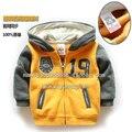 Venta 2015 otoño primavera bebé ropa niños abrigos abrigos niños niños de la rebeca ocasional hoodies muchachos capa de la chaqueta