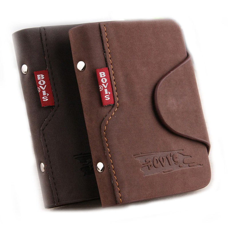 Bovis 1pc Genuine Leather Business Cards Holder Credit