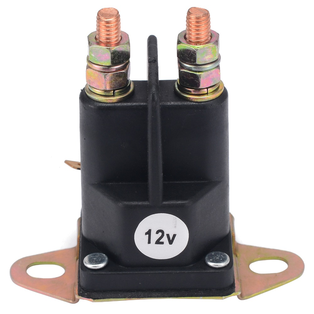 1pc New Starter Solenoid Relay Switch Contactor Switch Engine 3 Terminals Replace For MTD Lawnmower lawnmower blade
