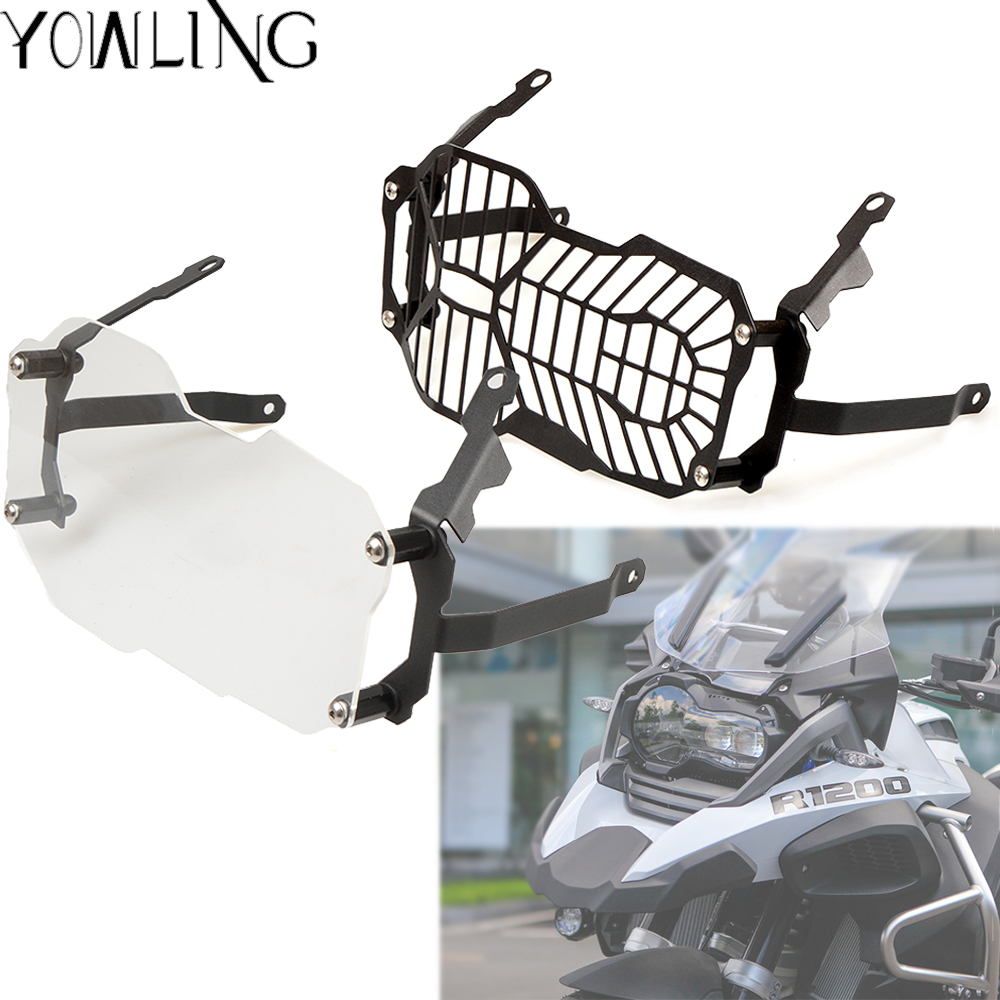 Headlight Protector Guard Grill Lense Cover For BMW R1200 GS R1200GS Adventure LC ADV 2014 2015 2016 2017 2018  R1200 GSA 1250
