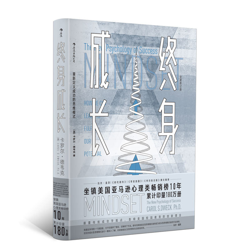 New Chinese The New Psychology of success book Lifelong growth mindset books for adult Success inspirational book an inspirational book full of wisdom