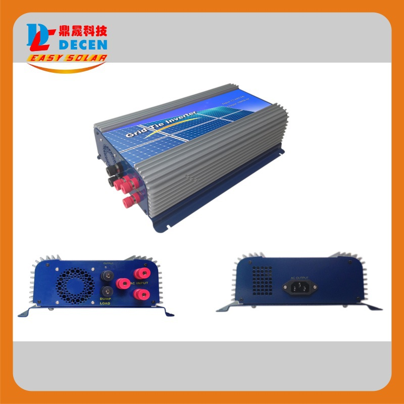 MAYLAR@3 Phase Input45-90V 1000W Wind Grid Tie Pure Sine Wave Inverter For 3 Phase 24V 1000Wind Turbine No Need Extra Controller maylar 300w wind grid tie inverter for 3 phase 24 48v ac wind turbine input 22 60v output 90 260v 50hz 60hz no need controller