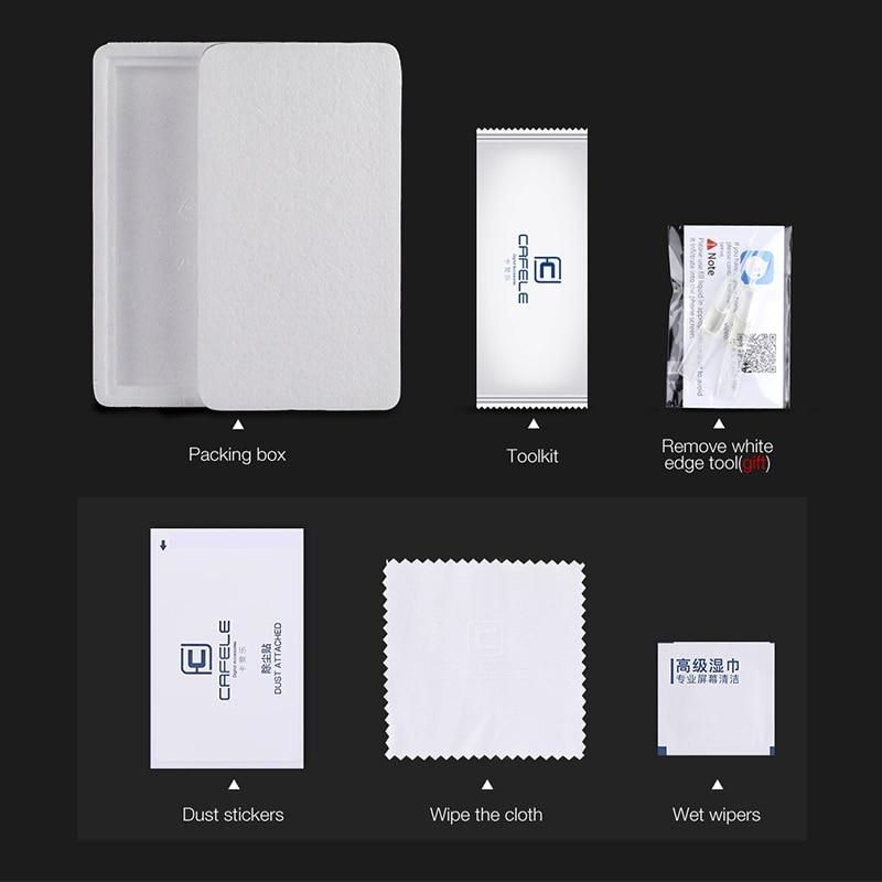Huawei Honor üçün CAFELE Ekran Qoruyucu 8 9 10 V10 20 V30 Pro - Cib telefonu aksesuarları və hissələri - Fotoqrafiya 5
