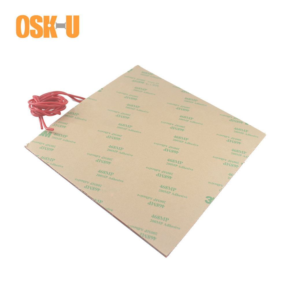 1 5 1 8mm thickness Silicone Heater Pad 12 24V Electric Heating Element Anti freezing Heating Pad for Air Conditioner Compressor in Electric Water Heater Parts from Home Appliances