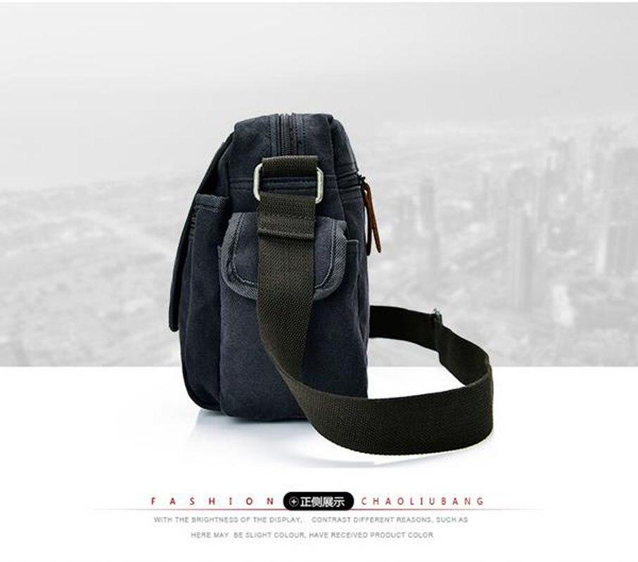 c9c90f6135d7 MANJIANGHONG Vintage Mens Messenger Bags Canvas Shoulder Bag Fashion Men  Business Crossbody Bag Printing Travel Handbag P597