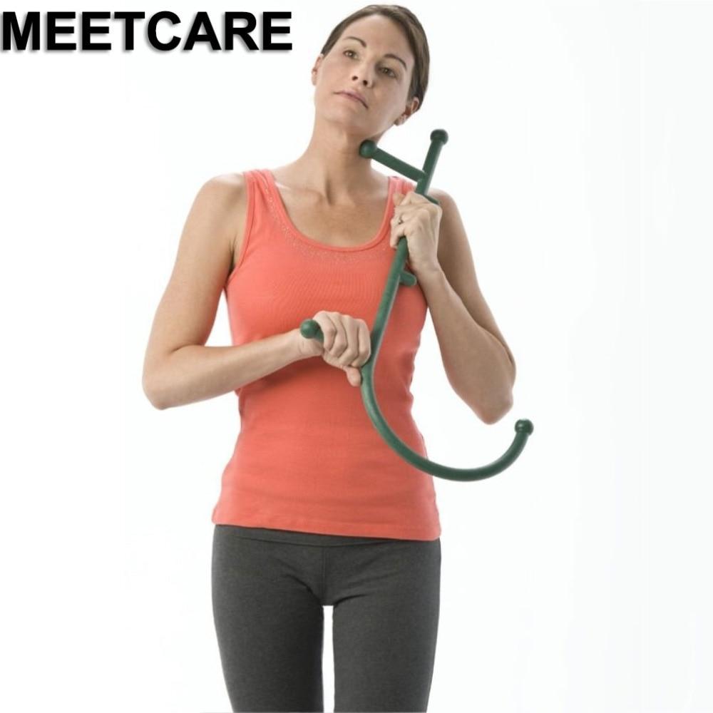 Peelings & Körperbehandlungen 1 Pcs Neueste Hals Und Schulter Therapeutische Dual Trigger Punkt Selbst-massage Werkzeug Körper Pflege Werkzeuge Schönheit & Gesundheit