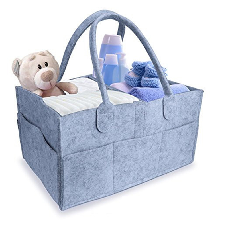 GQIYIBBEI Foldable Baby Diaper Caddy Organiser Gift Kid Toys Portable Storage Bag/box fo ...