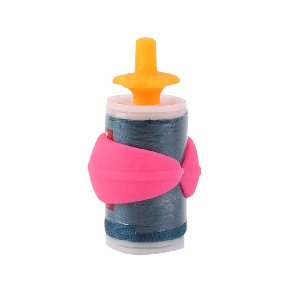 Peels Thread Spool Huggers for Sewing Machine to Prevent Thread Unwinding No Loose Ends or Thread Tails 100 Pieces