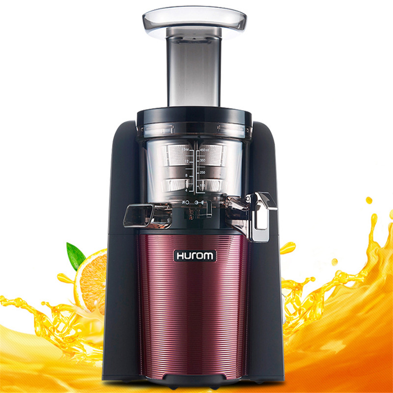 New hurom Slow Juicer HUE21WN Fruits Vegetable Low Speed Juice extractor 100% Original hurom whole slow juicer 300w 75 cm fruits low speed juice extractor juicers fruit machines