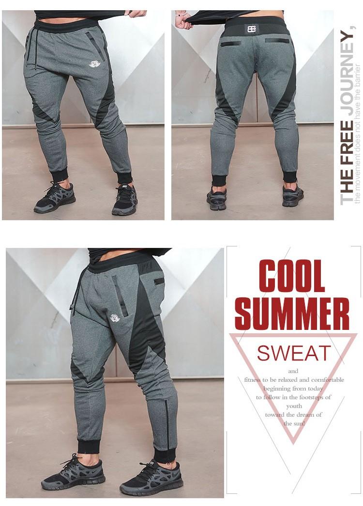 Aolamegs Mens Joggers Pants Gyms Fitness TrainingRunningJogging Pants Male Gymshark Bottoms Bodybuilding Sweatpants Sportswear (4)