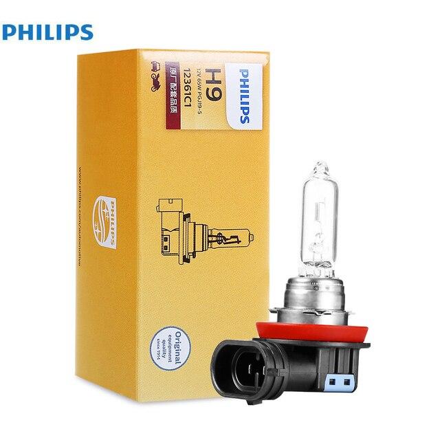 Автомобильная лампа H9 65W 1 шт. Philips 12361C1 - фото 2