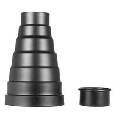 Snoot with Honeycomb Grid 5pcs Color Filter Kit for Elinchrom /Impact EX/Calumet Genesis/ Interfit EX Flash Strobe