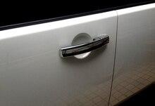 8 шт./компл. сторона двери автомобиля ручка крышки Chrome планки для Land Rover LR4 Discovery 4 2010 2011 2012 2013 2014 2015 Интимные аксессуары