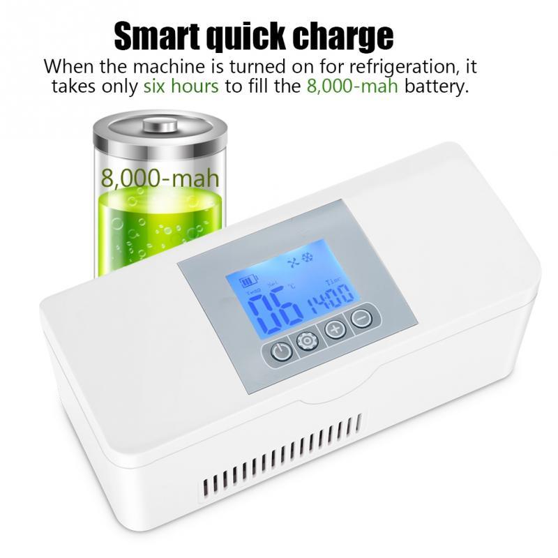 Portable Insulin Refrigerator Cooler Medical Travel Cooling Case 100 240V Equipment cooler Tool