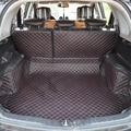 Esteiras mala do carro para Great Wall Hover H6 H5 H2 completa cercado por mat tronco de couro full-versão personalizada com encosto pad