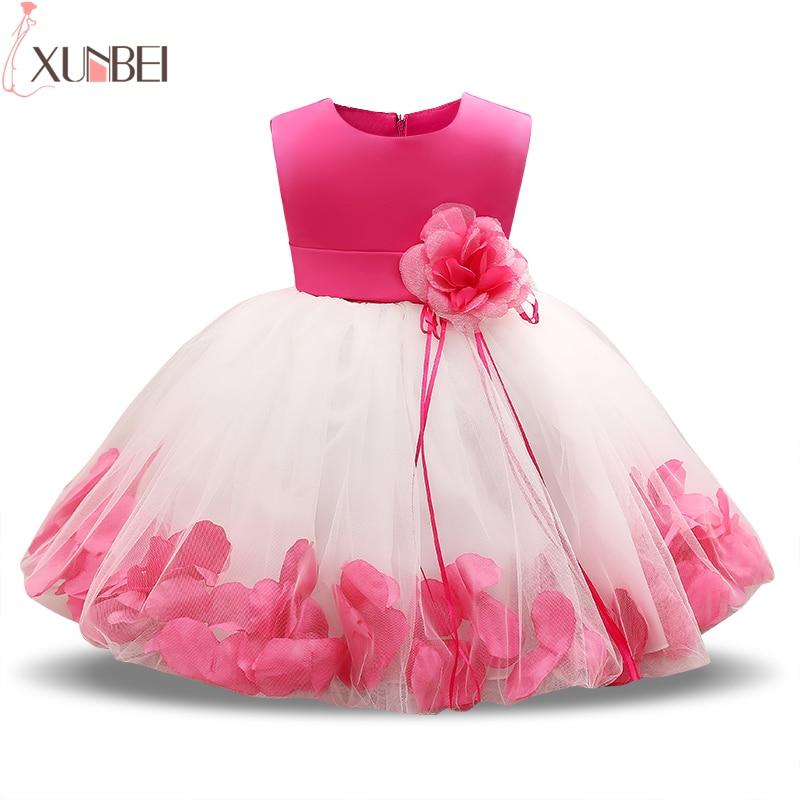 Lovely Ball Gown Short   Flower     Girl     Dresses   2019 Baby   Dress   Communion   Dresses   White Kids Prom   Dresses   Evening Gowns   Girls