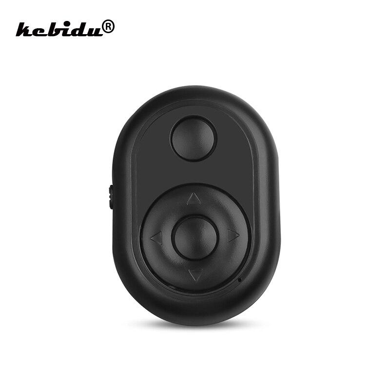 Пульт дистанционного управления kebidu, беспроводной Bluetooth-контроллер для спуска затвора, для камеры, телефона, Селфи, телевизора, для Huawei, Xiaomi, ...