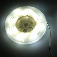 Motion Activated Bed Light Flexible LED Strip Night Illumination With Automatic Shut Off Timer Sensor For