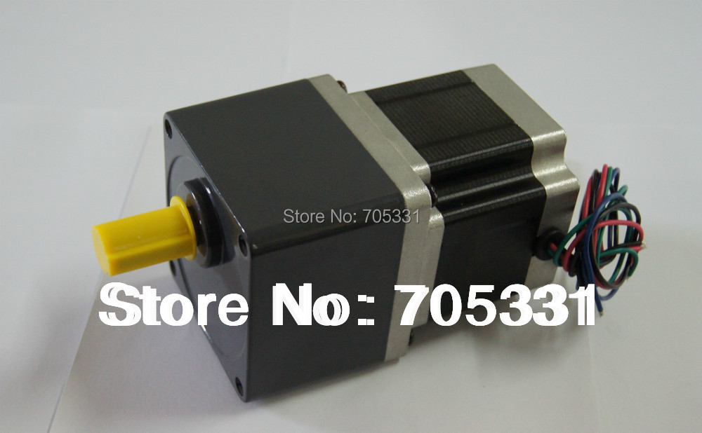 купить High Torque 4-lead NEMA 34 Frame 86mm Geared Stepper Motor with 4.5N.m Holding Torque Motor Length 80mm Gear Ratio 1:10 по цене 6568.56 рублей