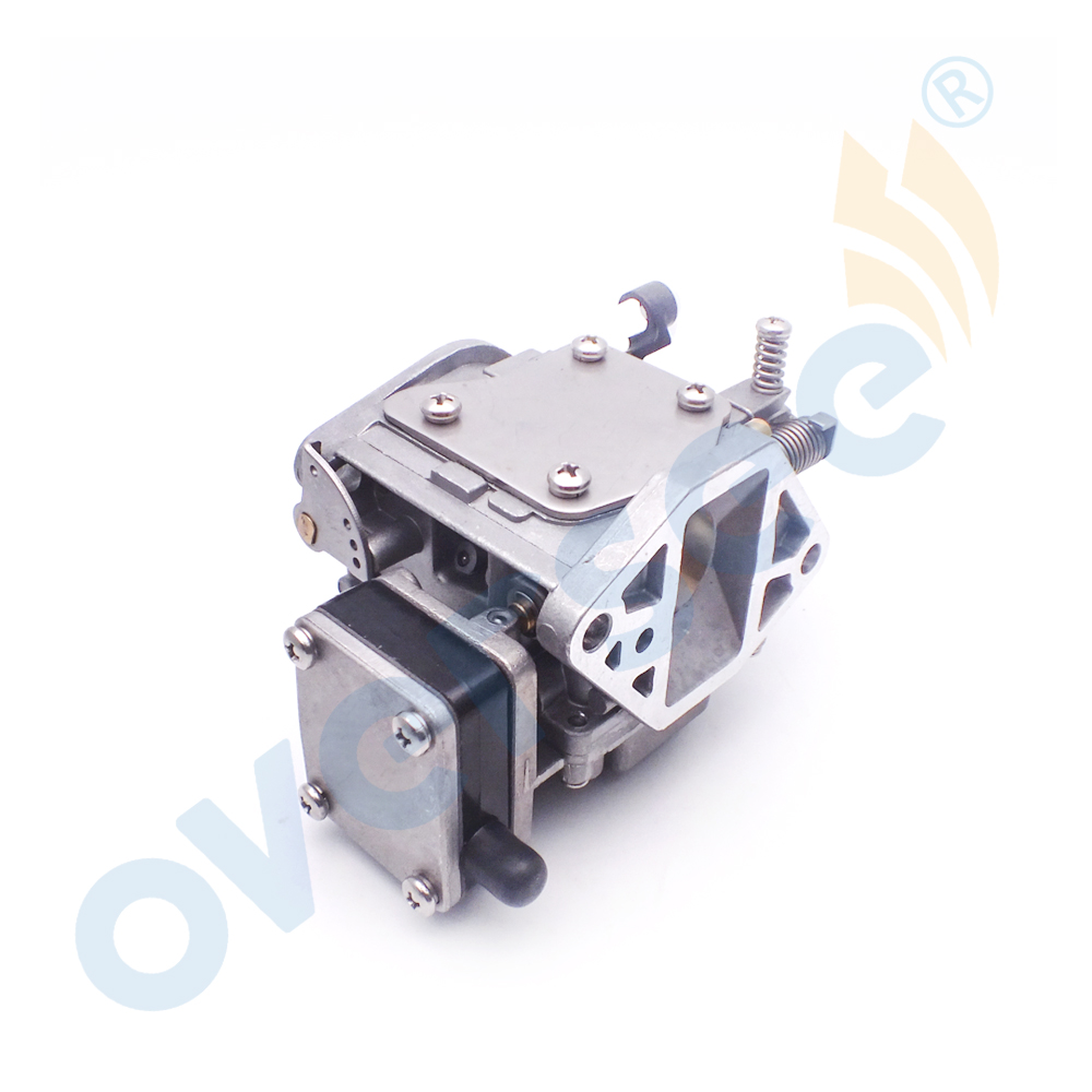 63V-14301-10 outboard carburetor assy For Yamaha 9.9HP 15HP 2 Stroke Outboard Motors Boat Motor Aftermarket parts 63V-14301-00 66m 14301 11 66m 14301 00 carburetor assy for yamaha 4 stroke 15hp f15 outboard motors