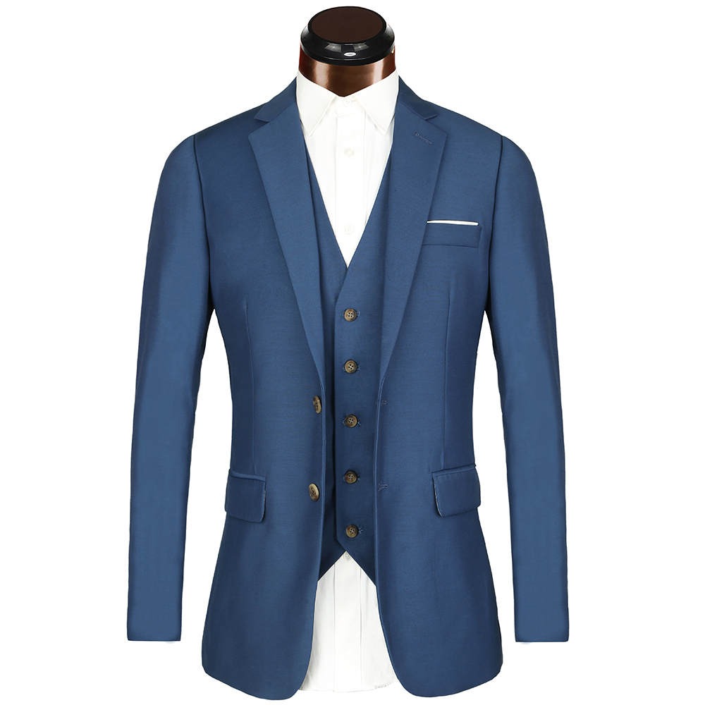 big euro size blue Suits 2018 Brand Mens Suits Wedding Groom 3 ...