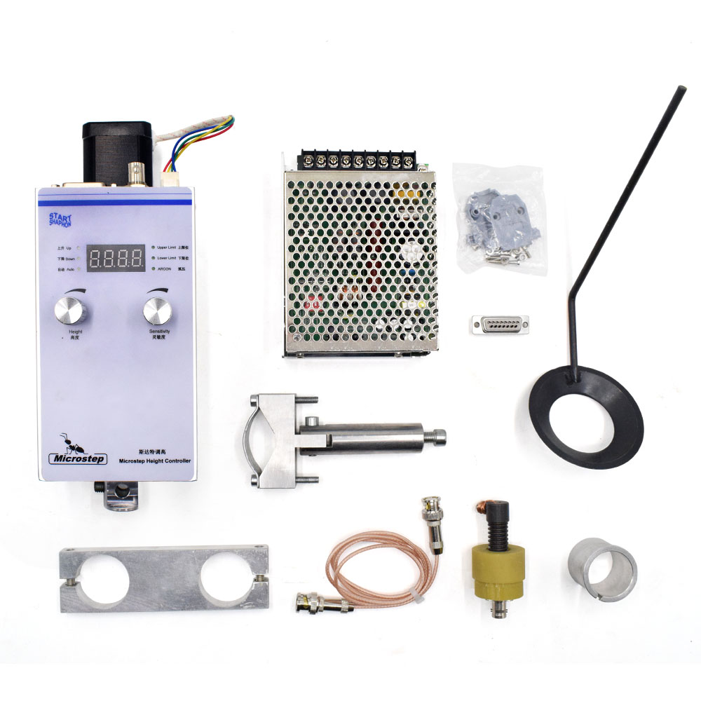 Plasma Torch Height Controller 220V Automatic Arc and Cap Voltage For CNC Flame Plasma Cutter Cutting