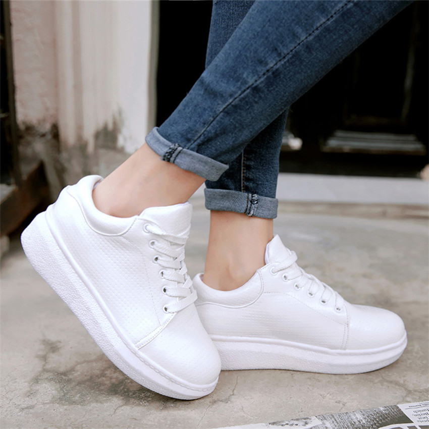 Plus Femme Femmes 42 La Zapatillas Mujer 41 Pied 40 Patin Respirant blanc Appartements noir Taille 34 Beige Formateurs rose 43 Casual Chaussures dvttq