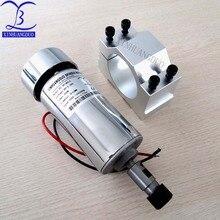 УФ-фильтр 52 мм с ЧПУ шпинделя 400 Вт ER11 патрон DC 12-48 v 400 Вт мотор шпинделя ЧПУ для лазерной гравировки машина + зажим ER11 3,175 мм для гравирования печатных плат
