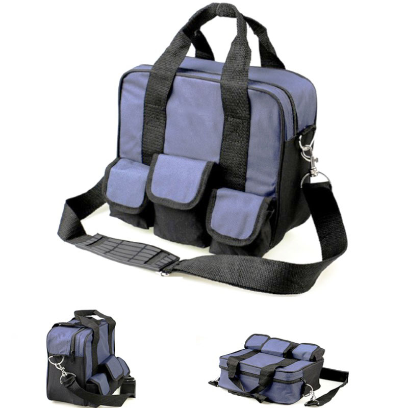 600D Tool Case Bag Shoulder Organizer Multifunction Electrician Repair Storage Box Suitcase Durable Portable Instrument Case