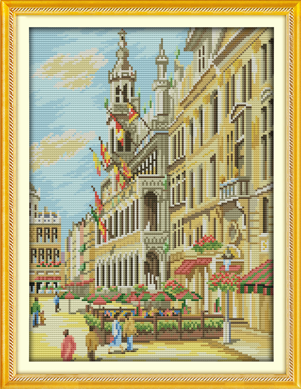 City street cross stitch